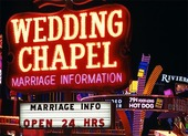 Vigselkapell i Las Vegas, USA