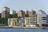 Hammarby Sjöstad i Stockholm