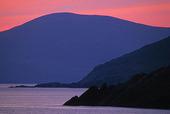 Skymning vid Irlands kust