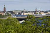 Stockholm med Västerbron