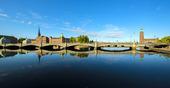 Vasabron, Stockholm tidig morgon
