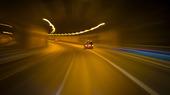 Bilar i tunneln