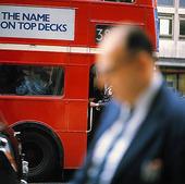 Buss i London, Storbritannien