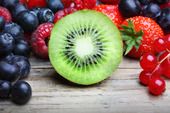 Mix of differrerent berrie
