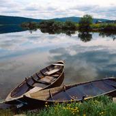 Roddbåtar i Vindelälven, Lappland
