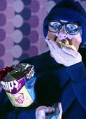 Äta chips