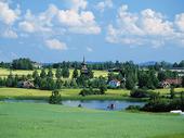Landskap vid Delsbo, Hälsingland