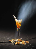 Alkohol och rökning