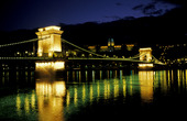 The Chain Bridge and the Royal Palace.