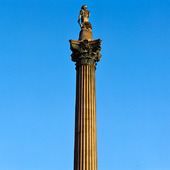 Lord Nelson på Trafalgar Square i London