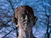 Skulptur av Carl Mikael Bellman