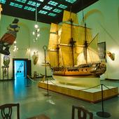 Interiör Sjöfartsmuseet, Göteborg
