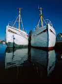 Fiskebåtar i Vrångö hamn, Göteborgs skärgård