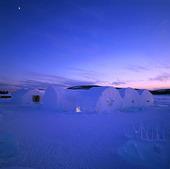 Ishotellet i Jukkasjärvi, Lappland