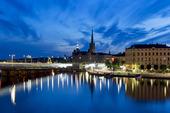 Gamla stan och Riddarfjärden i Stockholm