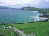 Havskust vid Dinglehalvön, Irland
