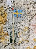 Mosaik - svenska flaggan