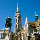 Staty Kung Stefan i Budapest, Ungern