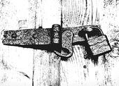 Dörregel med lås