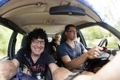 Selfie i bil
