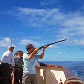 Skytte på kryssningsfartyg, 60-talet