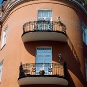 Balkonger på hus