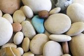 Runda stenar och turkos
