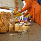 Picknick på båt