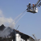 Brand i Kungsbacka, Halland