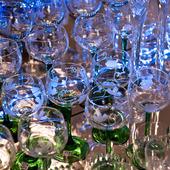 Glas i antikhandel