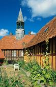 Rådhus i Ebeltoft, Danmark
