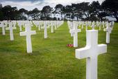 Amerikanska kyrkogården i Omaha Beach, Normandie