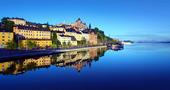 Stockholm en tidig sommarmorgon