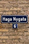 Skylt Haga Nygata, Göteborg