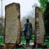 Raul Wallenberg monumentet i Budapest
