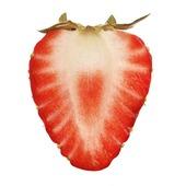 Skivad jordgubbe