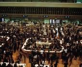 Stock Exchange in Tokyo, Japan