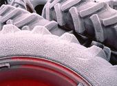 Frostiga traktordäck