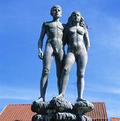 Ask och Embla i Sölvesborg, Blekinge