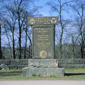 Minnestavla i Borlänge, Dalarna