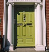 Grön dörr i Dublin, Irland