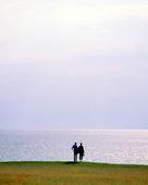Par vid havet