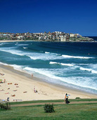 Strand i Sydney, Australien