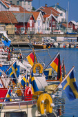 Fritidsbåtar vid Gullholmen, Bohuslän