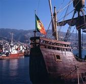 Skeppet Santa Maria, Portugal