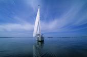 Segelbåt utan vind