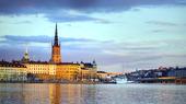 Stockholm i skymning