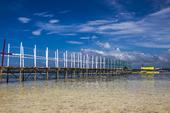 Brygga på Virgin Island, Filippinerna