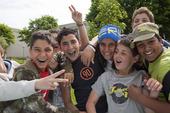 Glada invandrarbarn