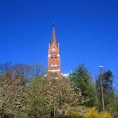Fassberg church in Mölndal, Västergöt